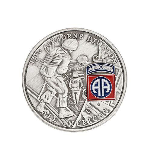 Acción Iraquí,Estados Unidos,82 División Aerotransportada,Monedas Conmemorativas,Estatua de la Libertad,911,George,Guerra,40 Mm Obra de...
