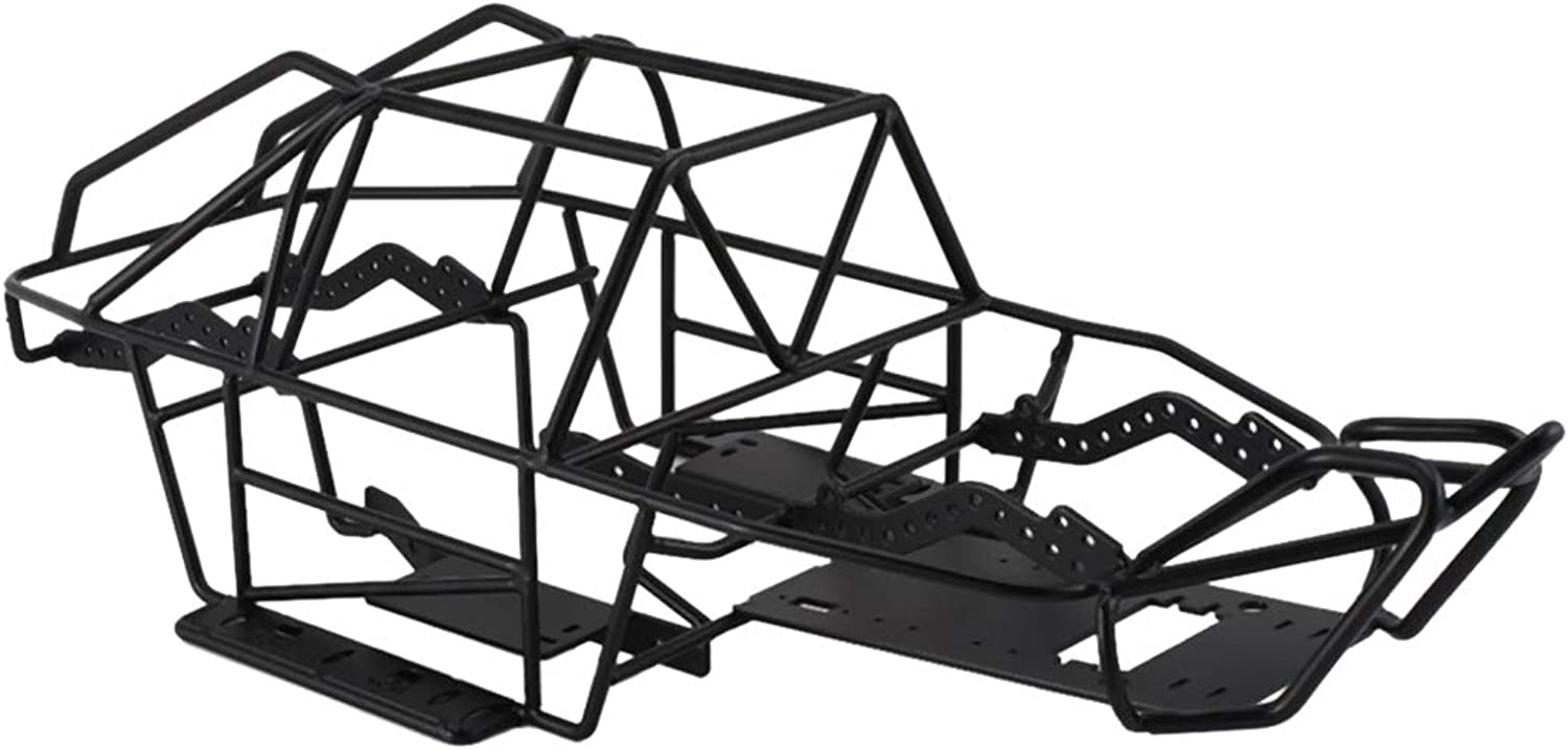 SM SunniMix 1 10 Scale RC Car Upgrade Parts ,Steel Frame ,Body Roll Cage ,for Axial ScxII
