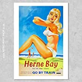 AZSTEEL BR Herne Bay Poster Poster No Frame Board for