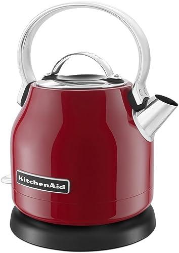 discount KitchenAid KEK1222ER 1.25-Liter Electric Kettle - Empire 2021 wholesale Red (Renewed) outlet online sale