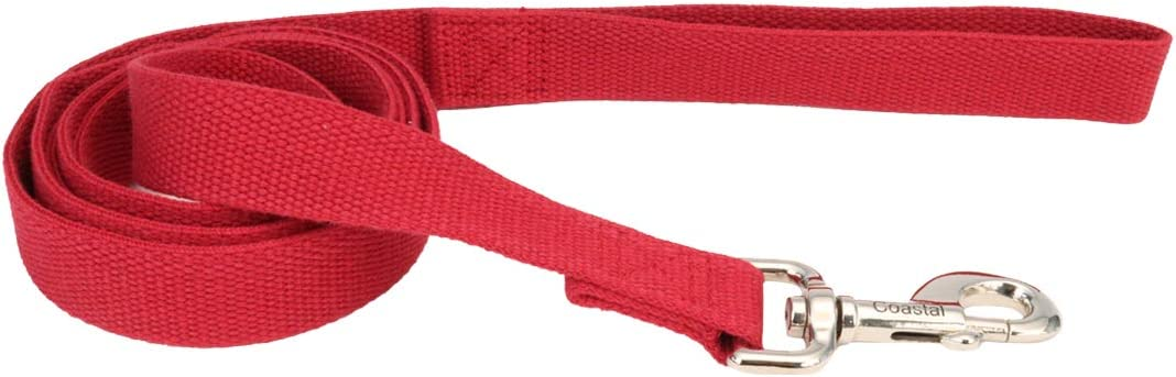 Coastal - New Popular Courier shipping free shipping Earth Soy Dog 06' Leash Cranberry 1