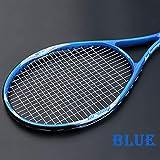 MLPNJ Raquette de Tennis Professionnelle en Alliage d'aluminium au Carbone avec Sac Hommes Femmes Raquettes de Raquette pour Adulte