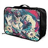 Anime JoJo's Bizarre Adventure Travel Storage Box Maleta de equipaje Trolley Cosmético Impermeable Ligero Gran...