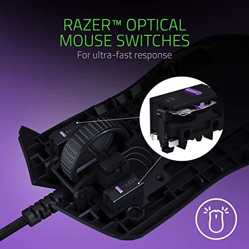 Razer Viper - Light Esports Gaming Mouse (Leichte beidhändige Gamer Maus mit 69g Gewicht, Speedflex-Kabel, optischer 5G Sensor, integrierter DPI-Speicher und RGB Chroma Beleuchtung) Schwarz