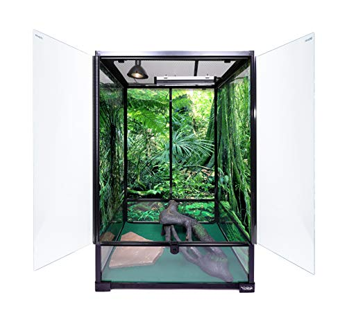 ELenest Carolina Custom Cages Terrarium, Extra-Tall Medium 24Lx18Dx36H; Easy Assembly