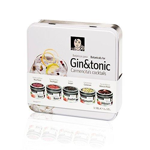 Kit de especias para Gin Tonic - Caja Regalo
