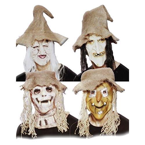 Ciao 30622 - Maschera Halloween Country in Lattice, Soggetti Assortiti