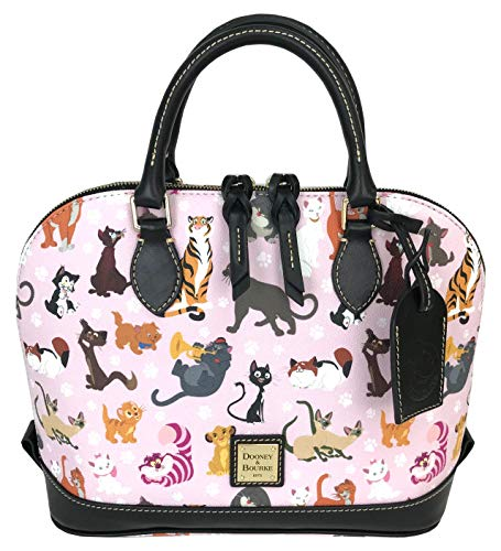 Disney Cats Dome Satchel Handbag Purse by Dooney & Bourke