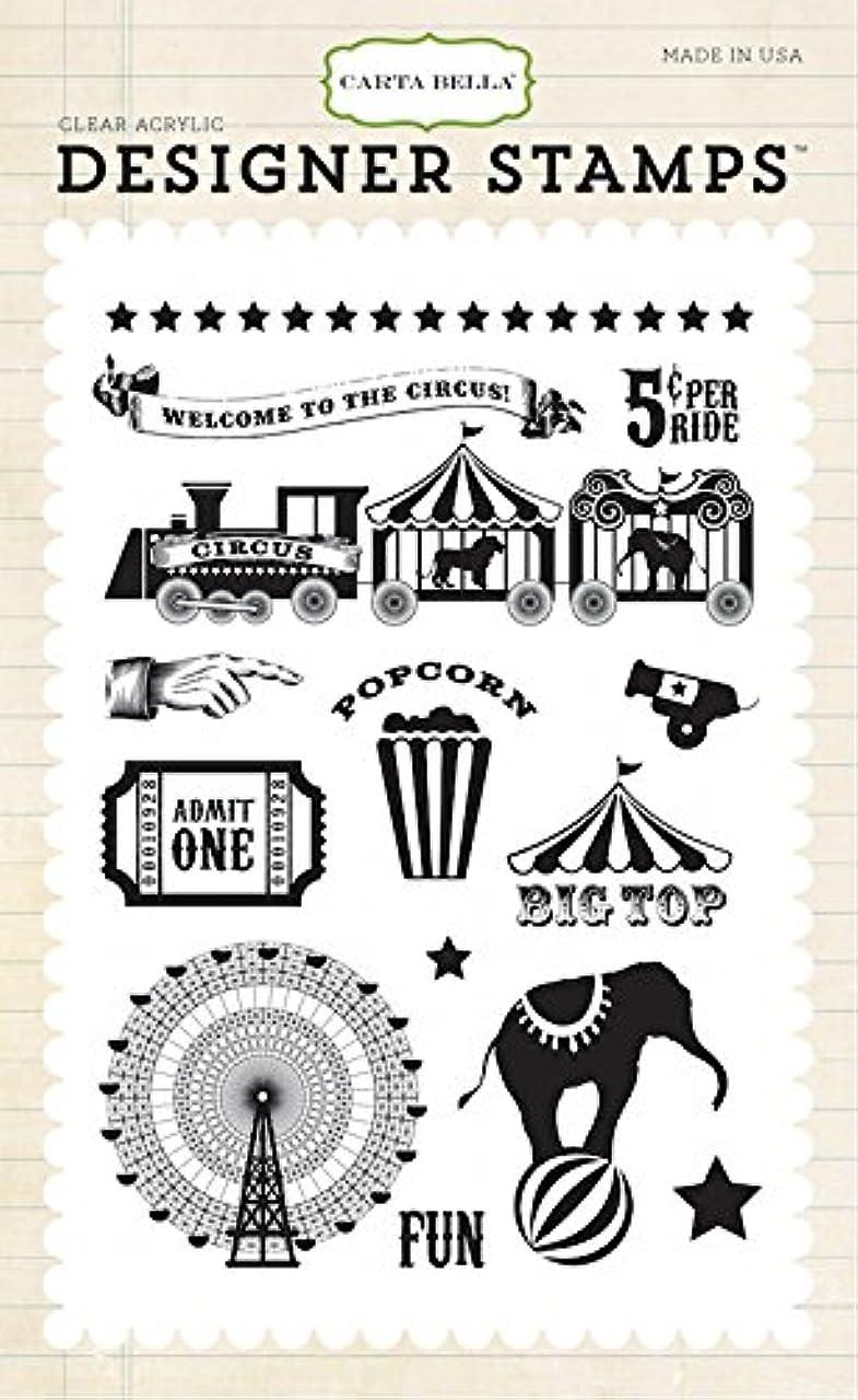 Carta Bella Paper Company Big Top Stamp, 4 by 6