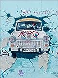Poster 50 x 70 cm: Berliner Mauer Motiv von Editors Choice