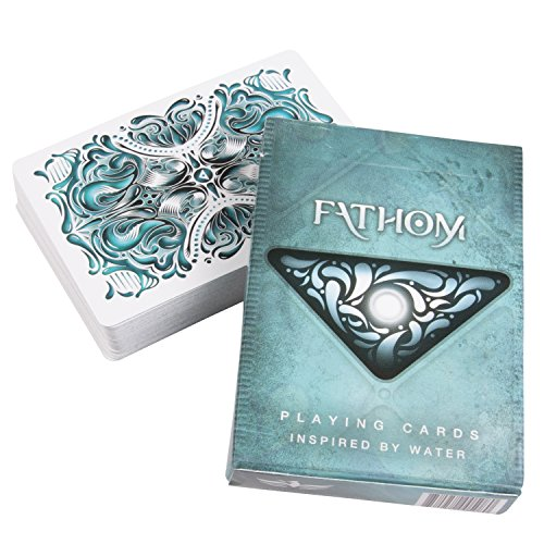 Fathom Playing Cards Deck by Ellusionist & Bicycle cartes à jouer