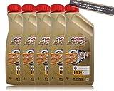 5x 1l = 5litros Castrol Edge Titanium fsttm 5W de 30LL Motor de aceite motores de aceite; Especificaciones/freigaben: Acea C3; MB compartido de 229.31/229.51; VW 50400/507.00