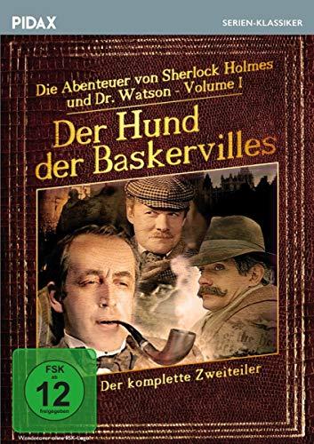 Sherlock Holmes: Der Hund der Baskervilles / Der komplette Zweiteiler der werksgetreuen Bestsellerverfilmung (Pidax Serien-Klassiker)