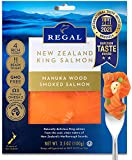 PREMIUM Regal New Zealand King Salmon – Manuka Wood Smoked Slices (3.5 oz - 6-pack)