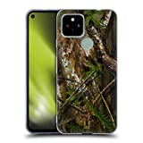 Head Case Designs Hardwood Turkey Hunt Camouflage Hunting Soft Gel Case and Matching Wallpaper Compatible with Google Pixel 4a 5G