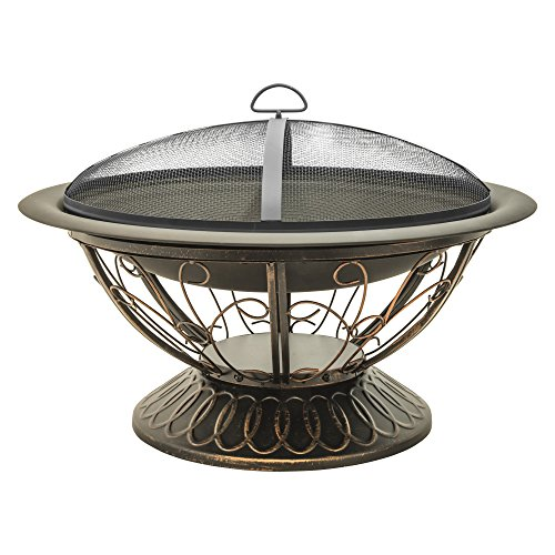 Buy Bargain CobraCo FB8001 Aegean Steel Fire Pit