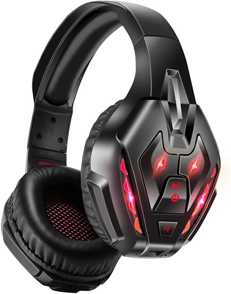 PHOINIKAS Gaming Headset for Inventory cleanup selling sale Xbox one PC 67% OFF of fixed price PS4 PS5 with