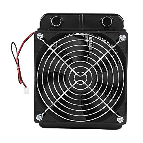 Tosuny Radiatore di Raffreddamento ad Acqua per CPU con dissipatore di Calore CPU G1   4 Termoconvettore di Calore con Ventola per dissipatore di Calore 18 Tubi (120 Millimetri)