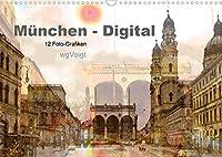 Muenchen-Digital (Wandkalender 2022 DIN A3 quer): Lieben Sie Muenchen? Mit diesen Impressionen erinnere ich Sie an die besondere Atmosphaere meiner Stadt. (Monatskalender, 14 Seiten )