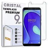 REY Protector de Pantalla para WIKO Y80, Cristal Vidrio Templado Premium