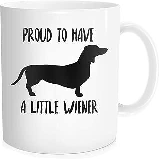 weiner dog cup