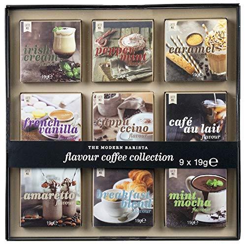 Modern Gourmet Foods - Modern Barista Kaffee-Geschenkset - Probierset Mit 9 Verschiedenen Kaffee-Sorten Zum Probieren