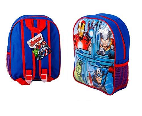 Iron Man, Thor, Hulk And Captain America Marvel Avengers Backpack Rucksack School Travel Bag 31cm