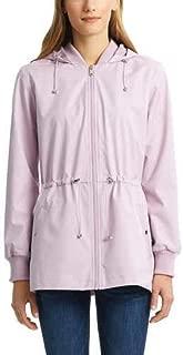 Bernardo Ladies' Jacket with Back Ruffle Hem (M, Amethyst)