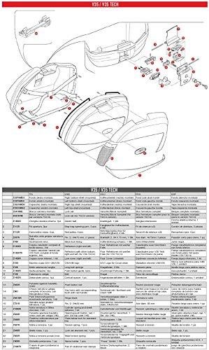 Givi Z1426R Cover, Parte Inferior para V35