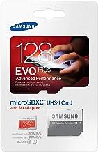 Samsung Speicherkarte MicroSDXC 128GB EVO Plus UHS-I Grade 1 Class 10, für Smartphones..