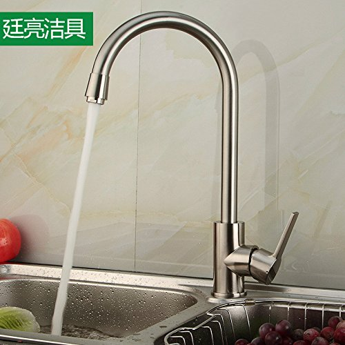 Maifeini Grifos de Cocina _ Oferta Grifos de Cocina Directos Agua Turbida Fregaderos Doble 6667