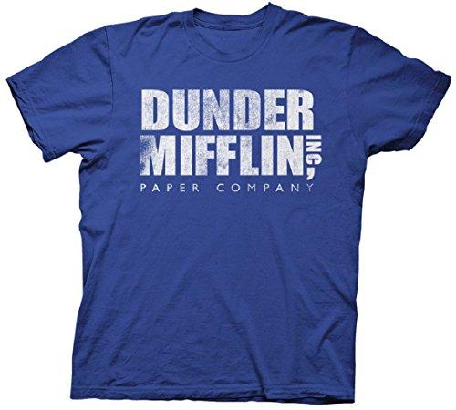 Camisa Ripple Junction de The Office, Dunder Mifflin, para adulto, XXL