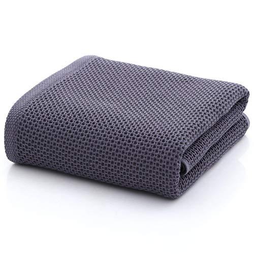 ShSnnwrl Bale Hand Towels Wash Toallas de baño de Nido de Abeja de Calidad Algodón Espesar Jacquard Toalla de baño Lisa Super Absorbente 70x140c