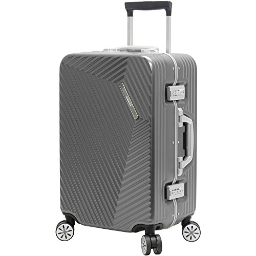 Andiamo Elegante Suitcase with Built-in TSA Lock -...