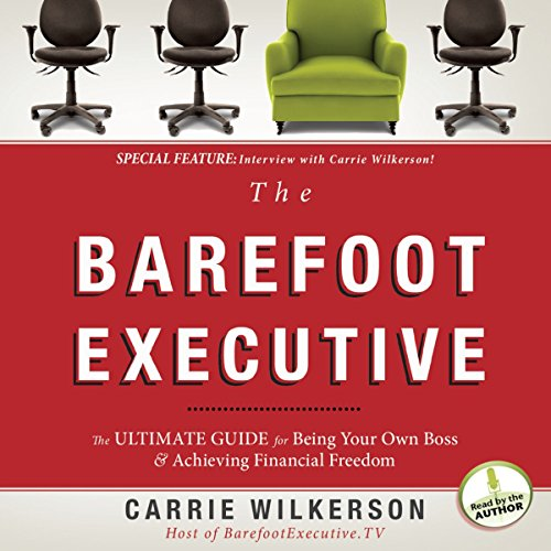 The Barefoot Executive audiobook cover art