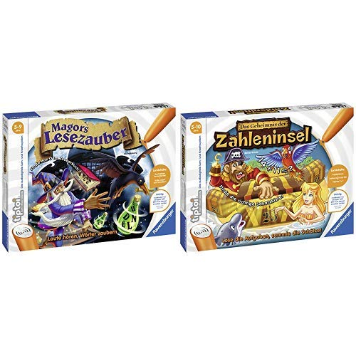Ravensburger 00511 Tiptoi Spiel Magors Lesezauber &  tiptoi Spiel