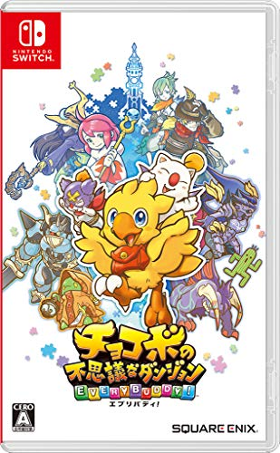 Square Enix Chocobo no Fushigi na Dungeon Every Buddy NINTENDO SWITCH REGION FREE JAPANESE VERSION English Ok