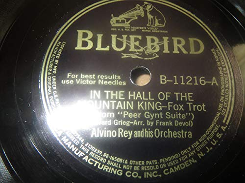 In The Hall Of The Mountain King/Harbor Of Dreams 78 RPM