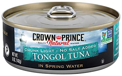 Crown Prince Natural Chunk Light Tongol Tuna in Spring Water