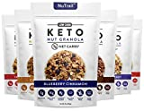 Low Karb - Keto Nut Granola Healthy Breakfast Cereal - Low Carb Snacks & Food - 3g Net Carbs - Almonds, Pecans, Coconut and more (11 oz) (Variety Pack)