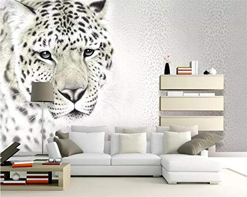 Nomte Modern Mode Behang Mural Luipaard Print Luipaard Woonkamer Tv Achtergrond Muur Decoratieve Schilderij 3D Behang 300x210cm