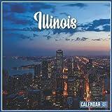 Illinois Calendar 2022: Official Planner Illinois Calendar 2022 - 2023 Monthly Weekly and Daily Illinois Calendar 2022 With Notes, 18 Month Square Illinois Calendar 2023