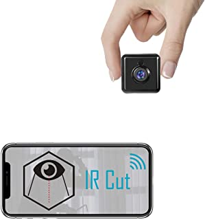 Spy Camera WiFi Hidden Mini Camera - Real 1080P HD Wireless Nanny Cam Portable Indoor Outdoor Security Camera with Phone A...