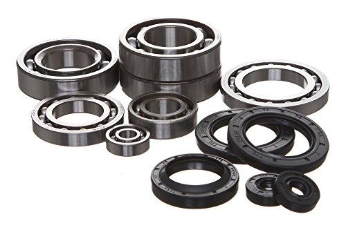 REPLACEMENTKITS.COM - Brand Fits Polaris 400 400L Complete Engine Bearing & Oil Seal Rebuild Kit Featuring KOYO Bearings -
