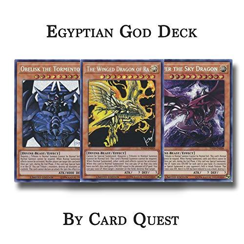 Yu-Gi-Oh! Complete Egyptian Gods Deck - Obelisk Slifer Ra