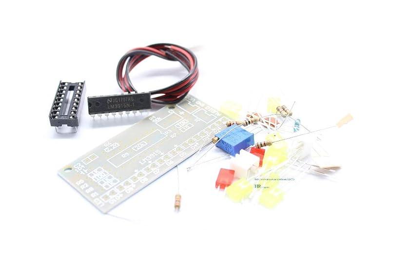 不純アラビア語ゲージWillBest LM3915 10-segment Audio Level indicator kit Level indicator DIY Kits