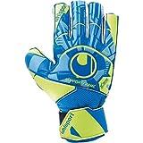 uhlsport Control Soft SF Junior Guantes de Portero, Juventud Unisex, Radar Blue/Fluo Yellow/Black, 6