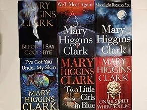 Set of 6 Mary Higgins Clark Suspense Mysteries: Before I Say Goodbye, We'll Meet Again, Moonlight Becomes You, I've Got Yo...