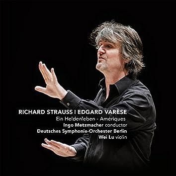 Strauss: Ein Heldenleben - Varese: Amériques