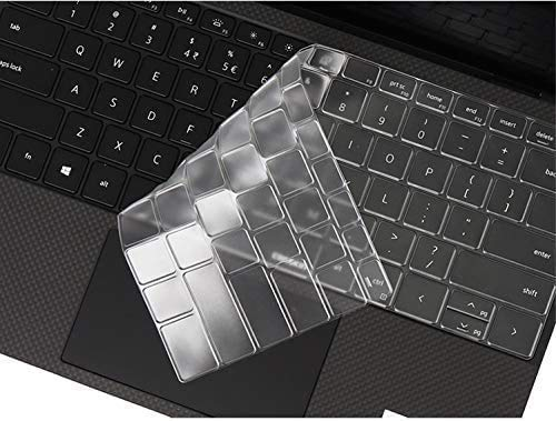 LEZE - Keyboard Cover Compatible with New 2020 Dell XPS 15 9500, XPS 17 9700 Series Touch-Screen Laptop - TPU
